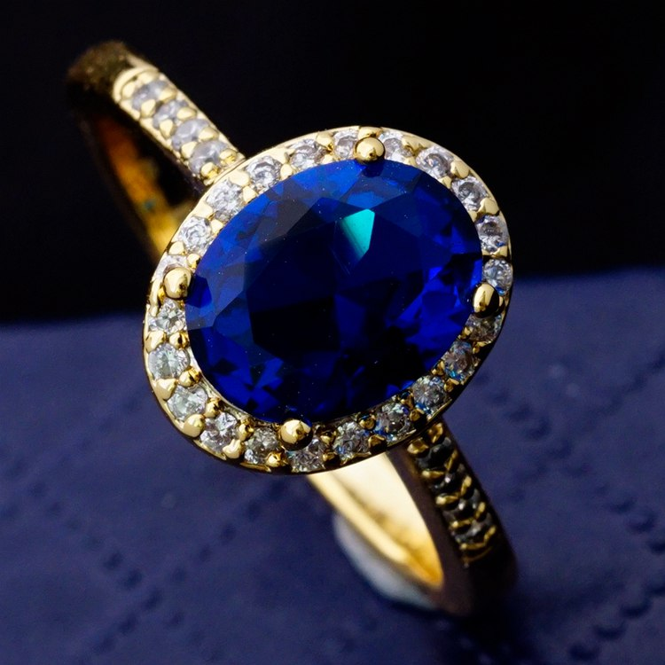 Blue Stone Diamond Jewellery