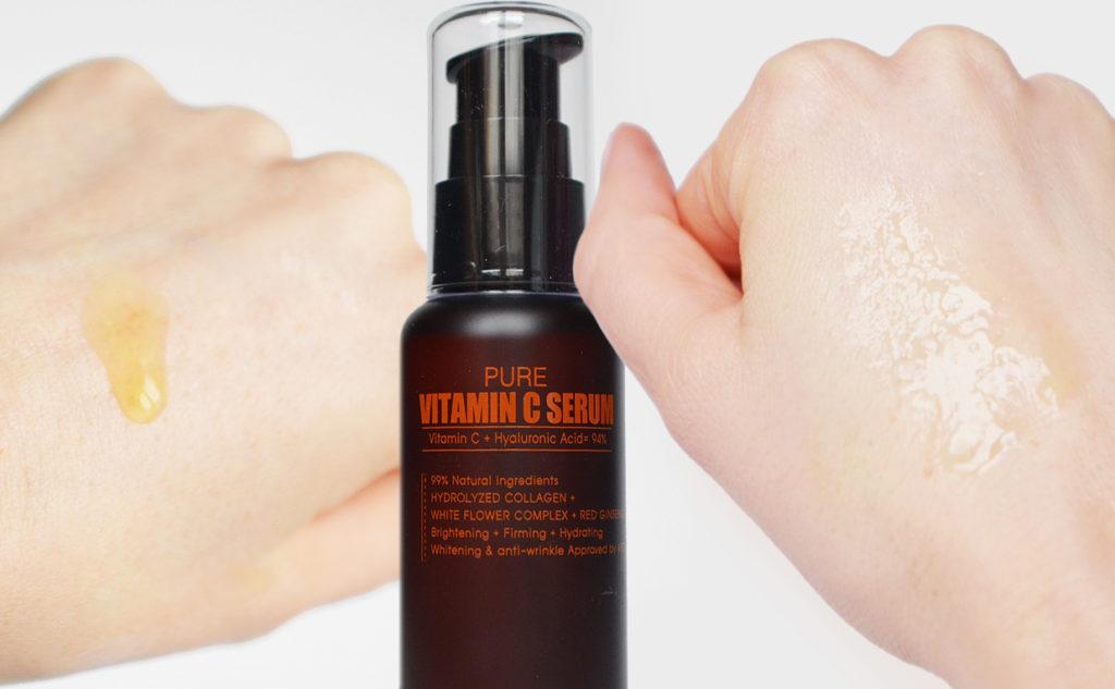 Rating Vitamin c serums